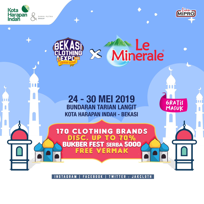 Bekasi Clothing Expo 2019 Lebaran Edition