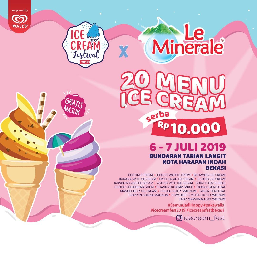 Ice Cream Festival 2019 -  Bekasi