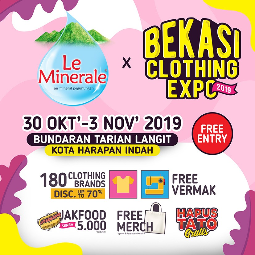 Bekasi Clothing Expo 2019