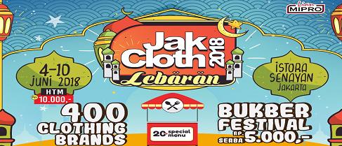 JakCloth 2018 - Jakarta