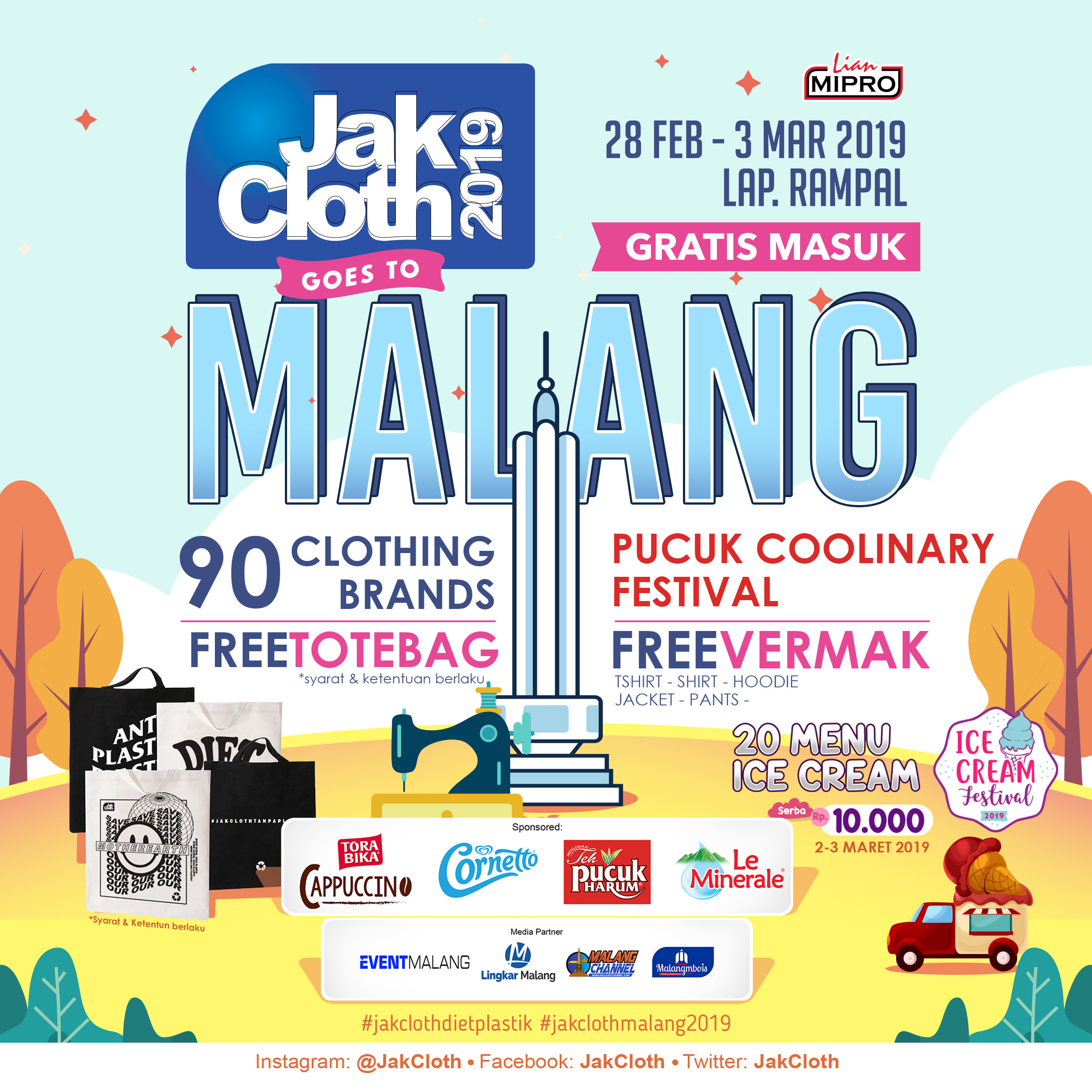 Jakcloth 2019 Goes To Malang