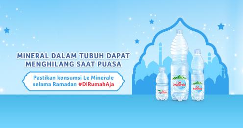 Air Mineral Berkualitas, Bantu Jaga Daya Tahan Tubuh Saat Berpuasa