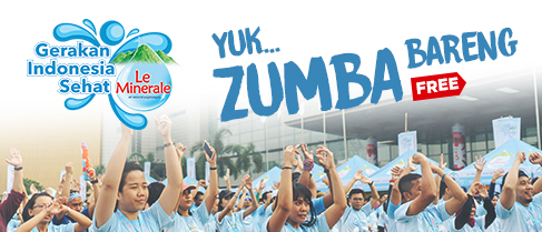 Free Zumba Bareng Car Free Day